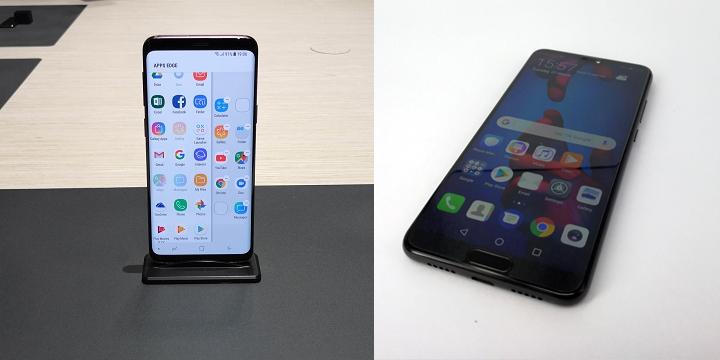 Huawei P20 vs Galaxy S9: Comparativa de especificaciones