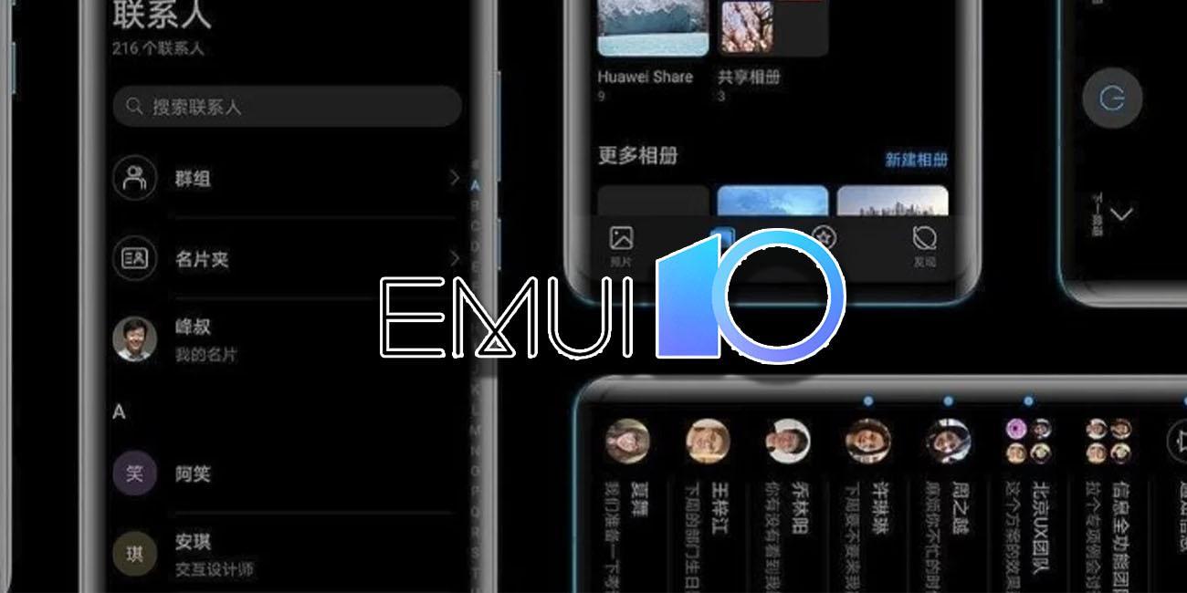 Cómo activar el modo oscuro en EMUI 10