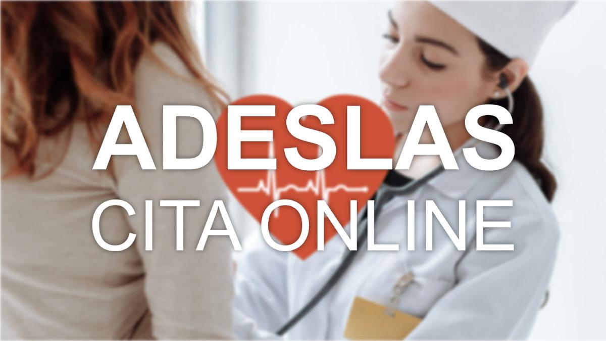 Cómo sacar cita online en Adeslas