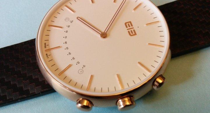 Review: Elephone W2, un elegante reloj con pulsera de fitness integrada