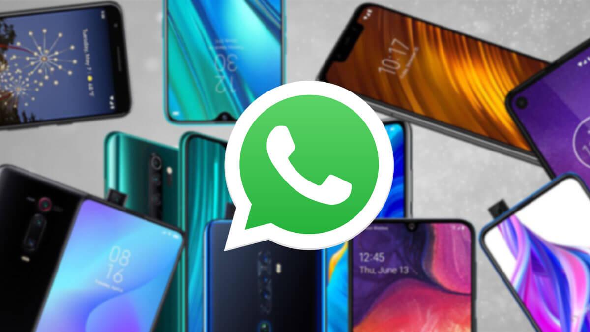 12 móviles para usar solo WhatsApp en 2020